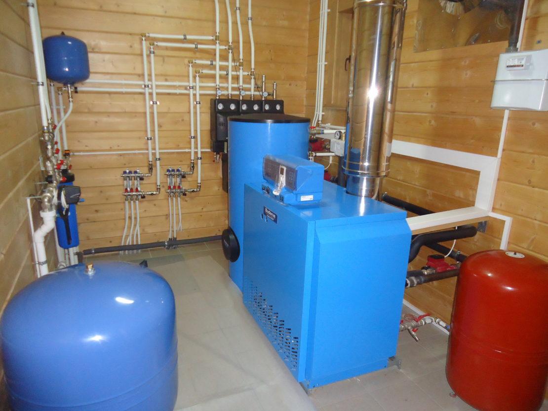 оборудование для водяной сети отопления