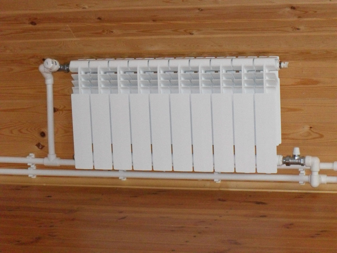 варианты обвязки отопительных радиаторов