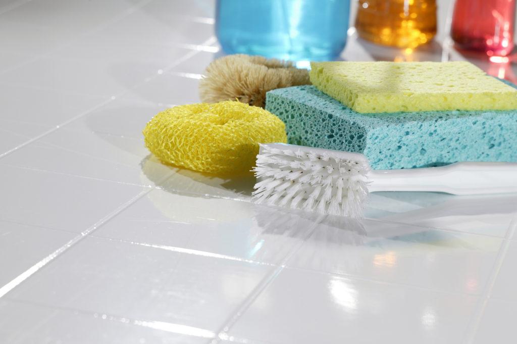 Использование лимонной кислоты для чистки плитки