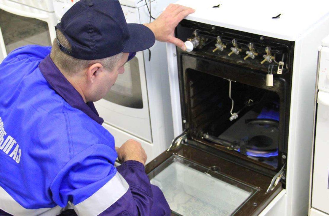 Как определить неисправность газовой плиты