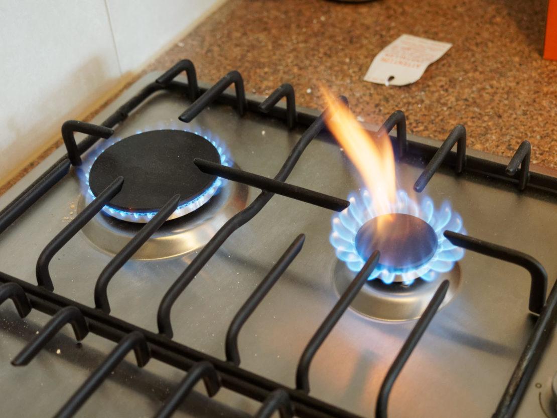 Неисправная газовая плита