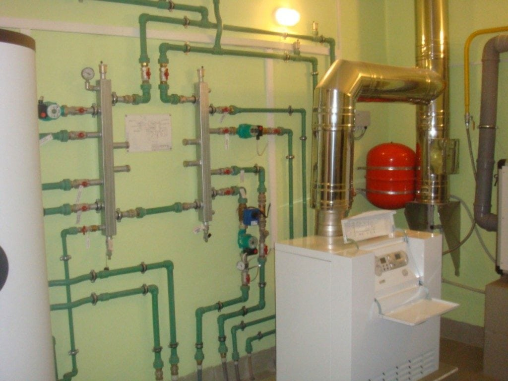 основные узлы газовых котельных