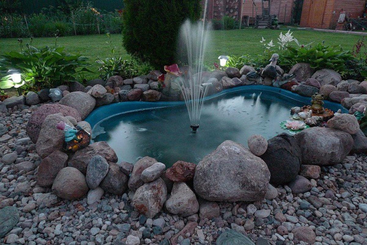 садовые фонтаны своими руками фото здание слева, после