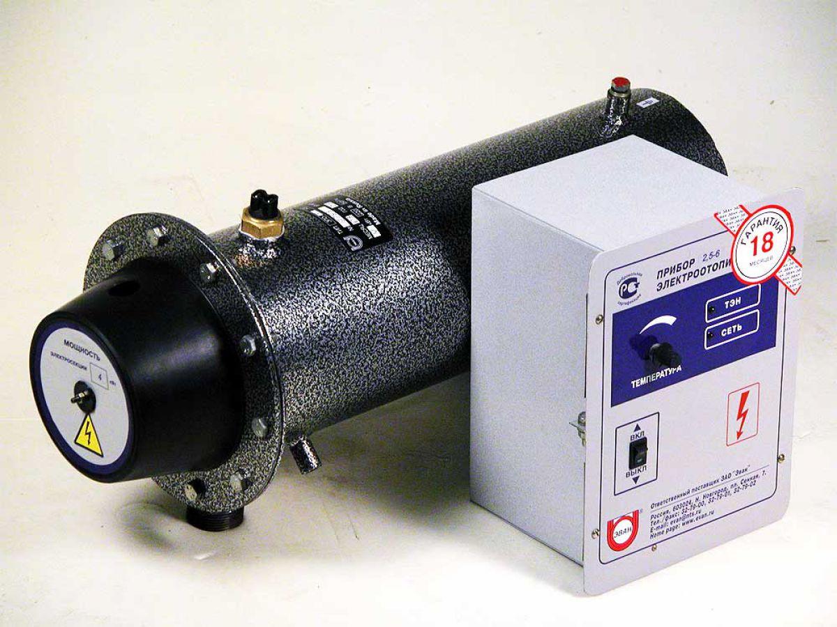электрический котел с контуром отопления
