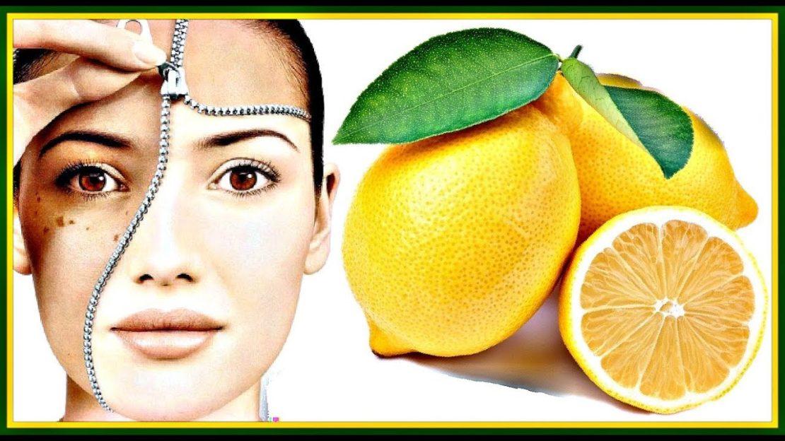 Удаление пигментных пятен лимоном