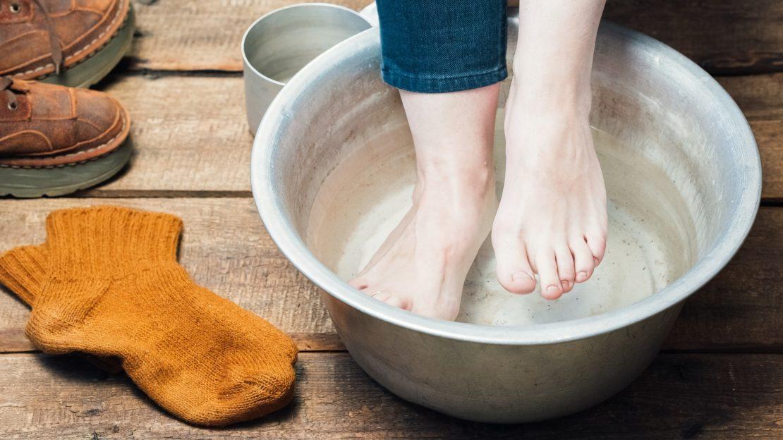 Средства от запаха ног