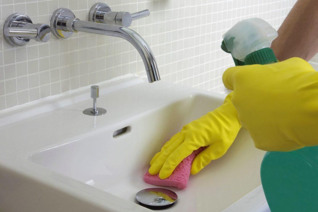 Очищение сантехники