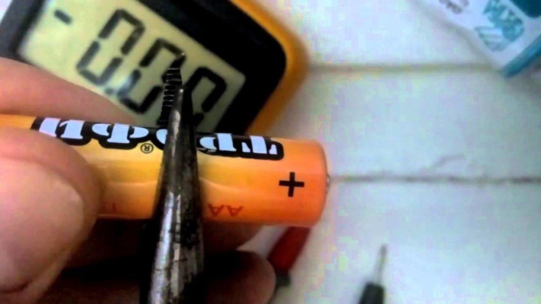 Правила зарядки батареек