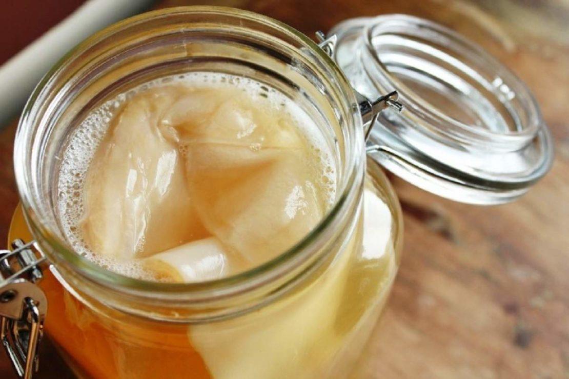 Чайный гриб и пищевая сода