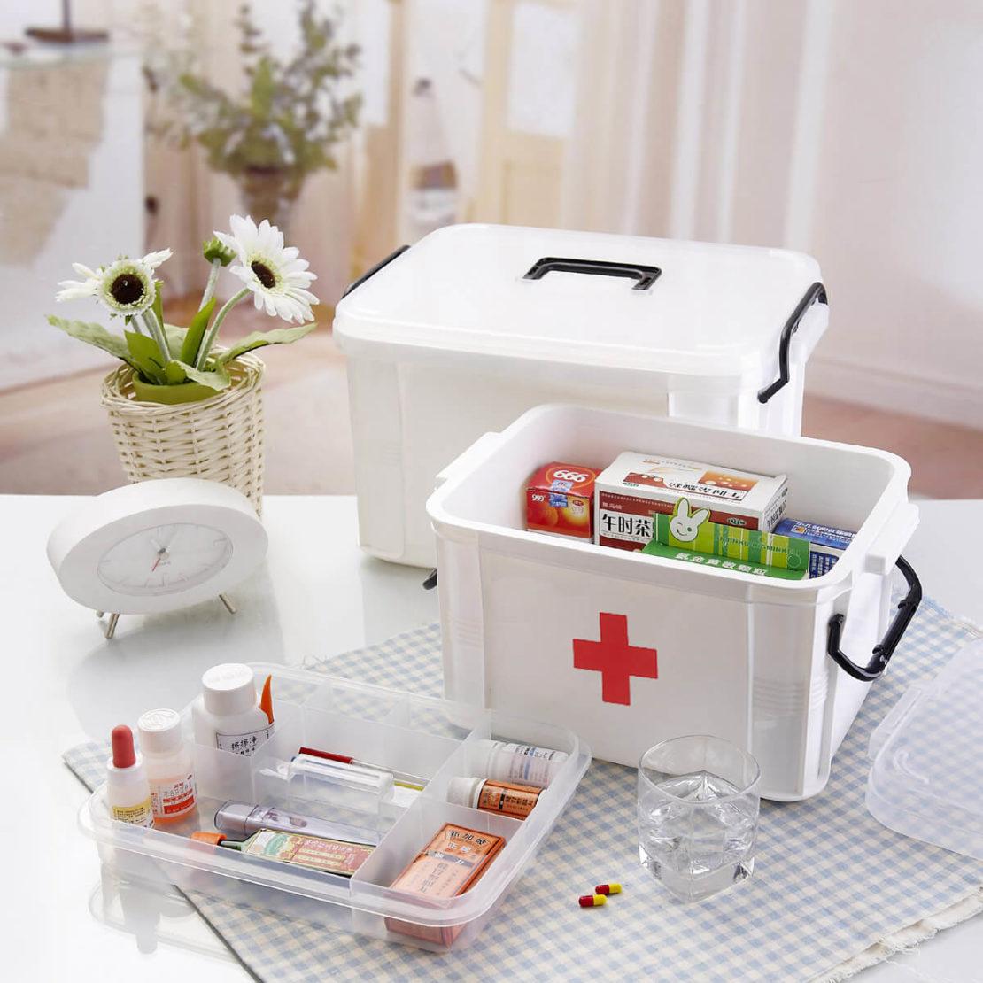 Аптечка первой помощи для дома