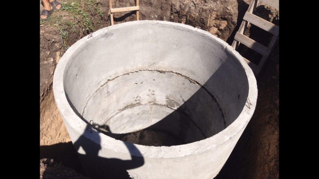 Сливная яма без откачки своими руками