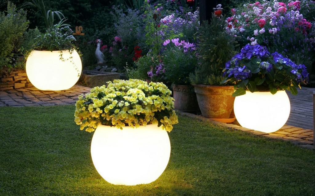 Светящиеся лампы своими руками без электричества