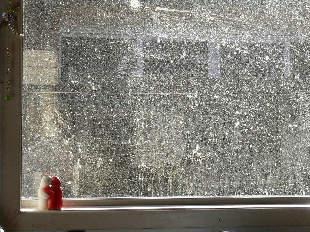 Этапы мытья окон