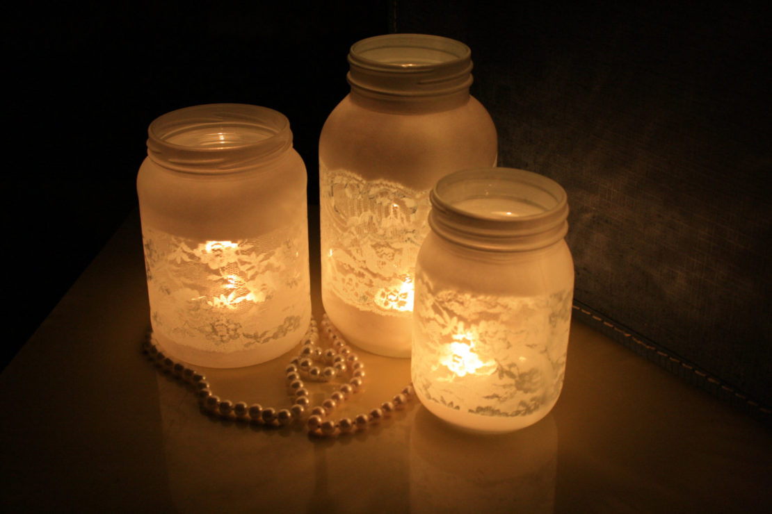Абажуры для свечей от ветра