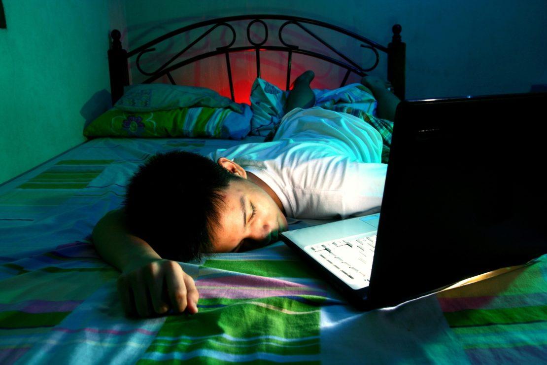 Гаджеты во время сна