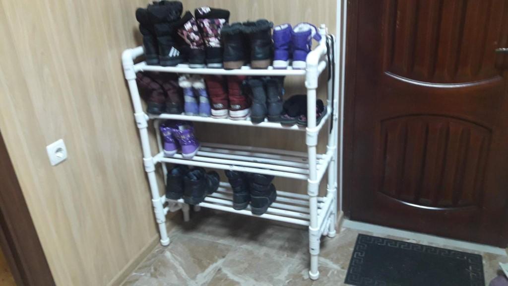 Полки для обуви и бутылок