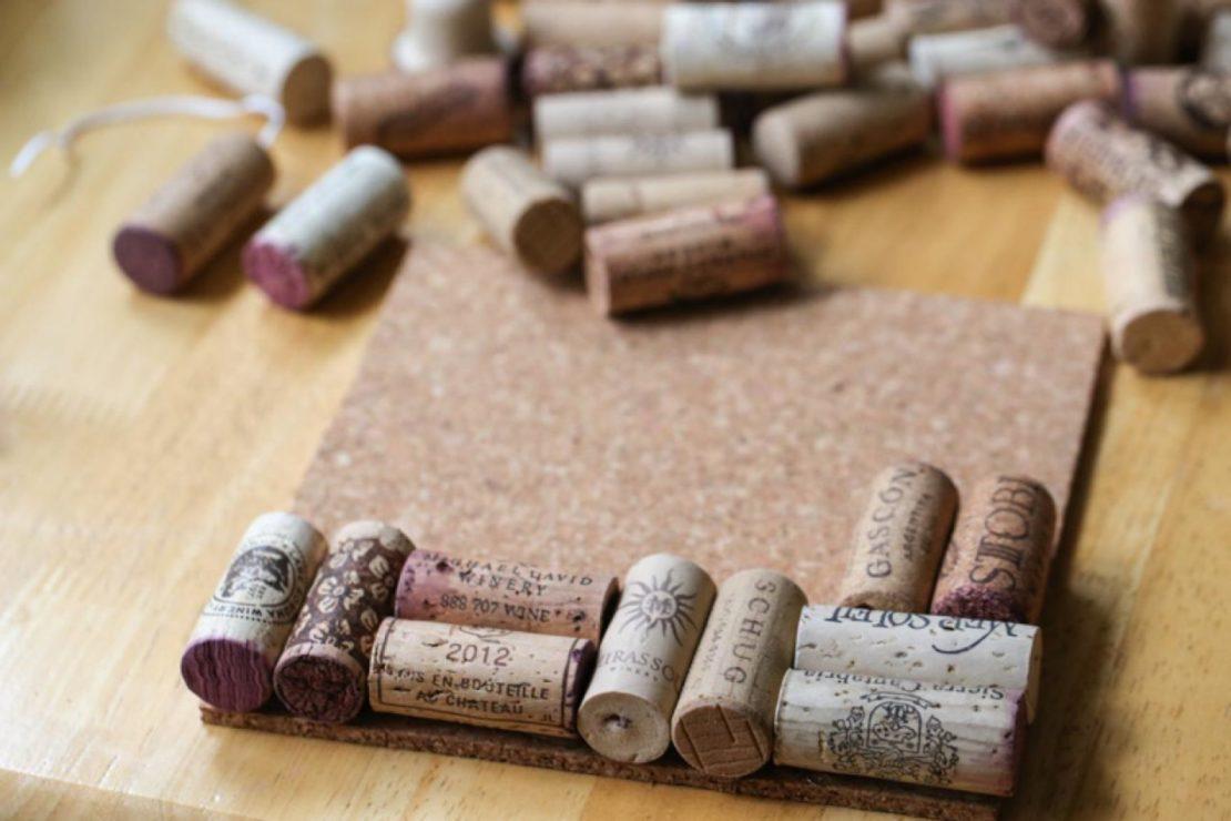 Необычное использование винных пробок в хозяйстве