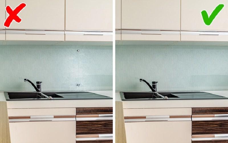 Ошибки, делающие кухню неуютной