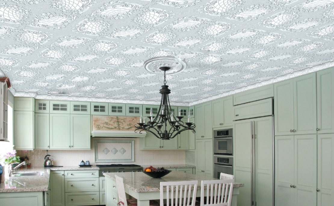 Как и чем отмыть потолочную пенопластовую плитку на кухне