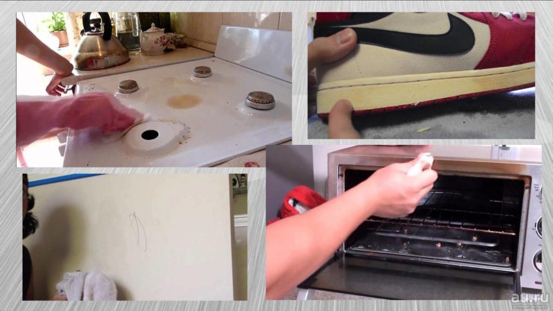 Что можно чистить меламиновой губкой