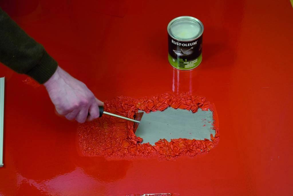 Результативные способы удаления старой краски с дерева