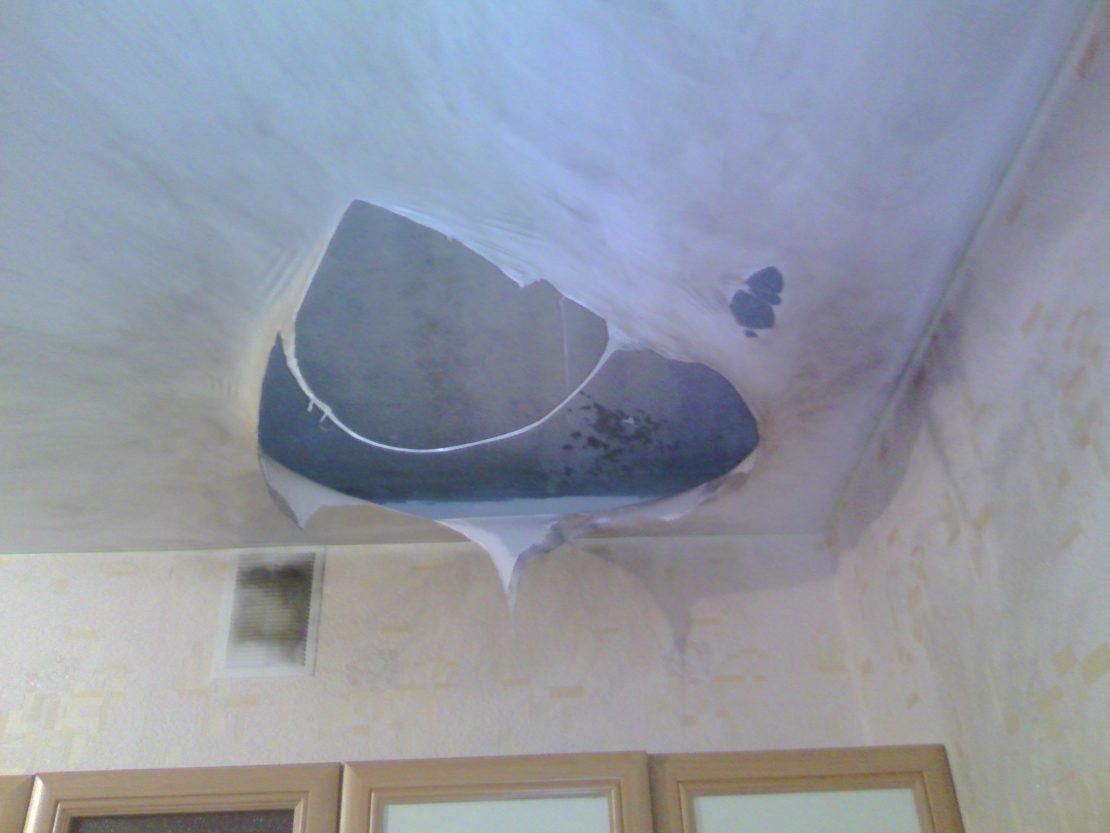Ошибки при установке натяжных потолков