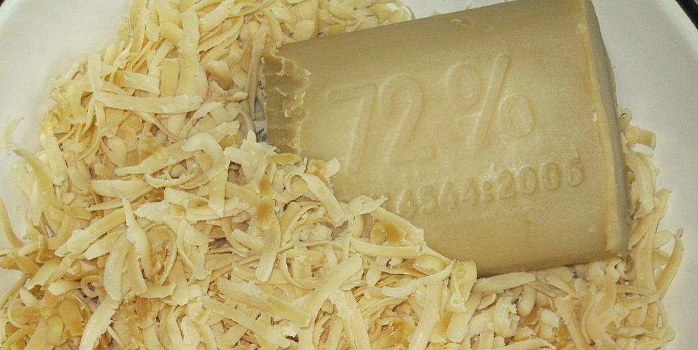 Стружка хозяйственного мыла