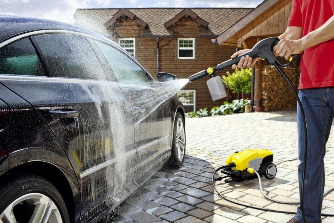 Можно ли мыть машину на личном участке