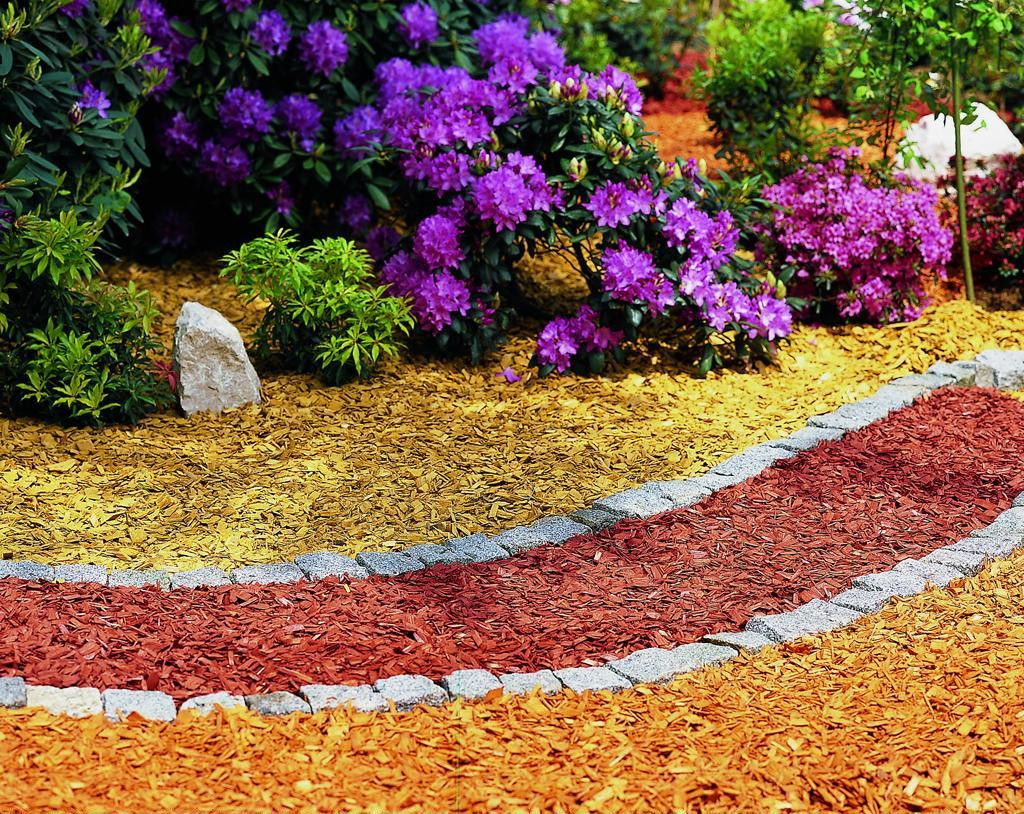 Опилки для садовых дорожек