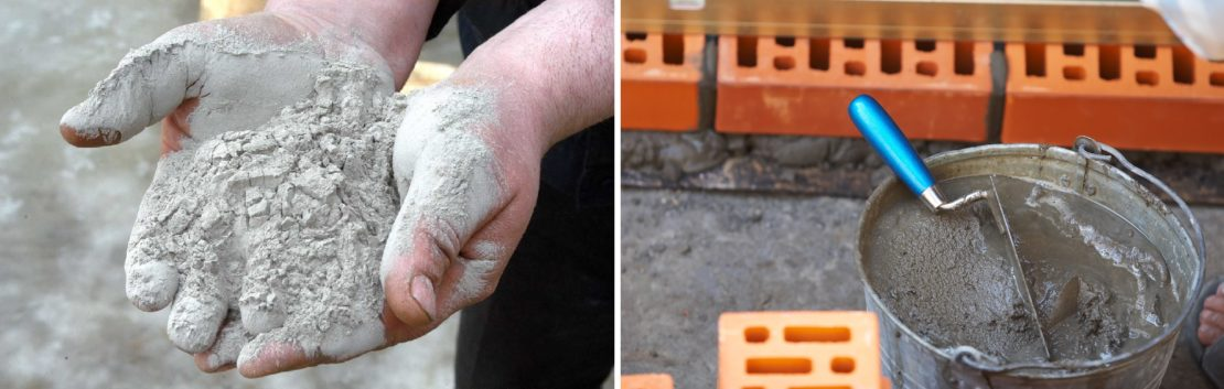 Как поделить мешок цемента без пыли
