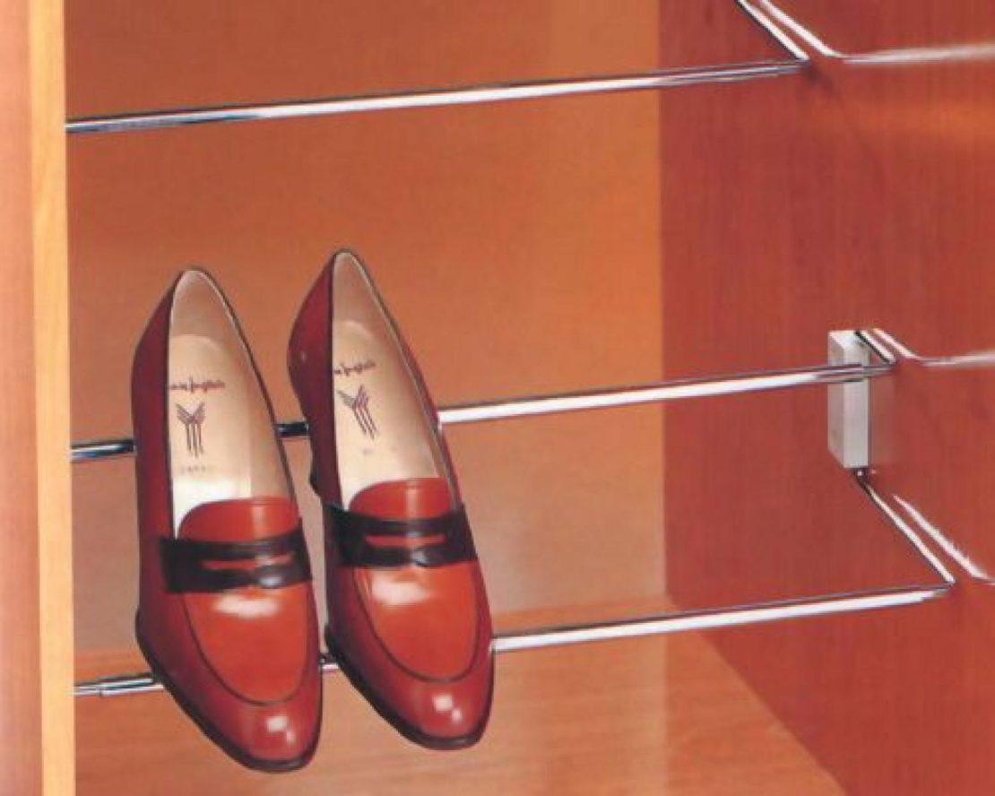 Рейлинги для хранения обуви