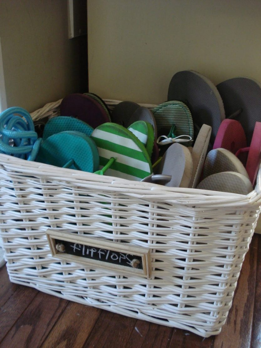 Вместительные корзины для хранения обуви