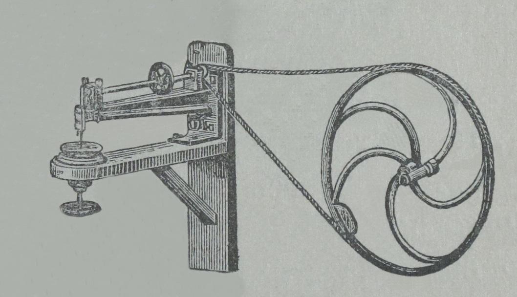 Лобзик на основе швейной машины