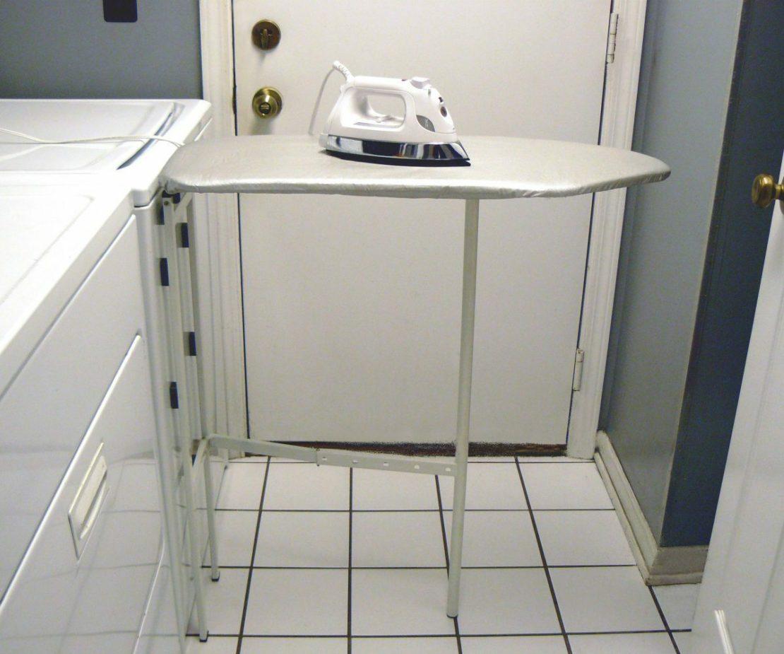 Где хранить гладильную доску в маленькой квартире