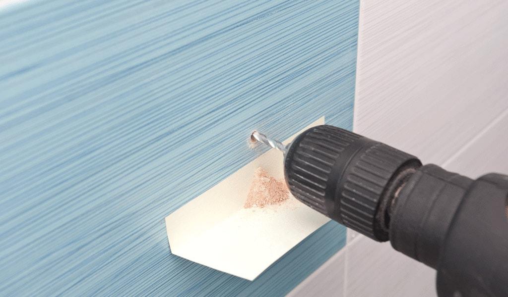Как правильно самому просверлить плитку без трещин и сколов