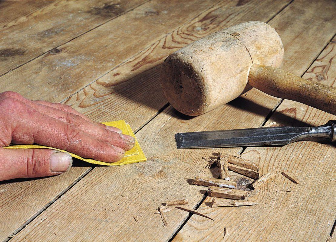 Как избавиться от скрипа пола, не срывая доски