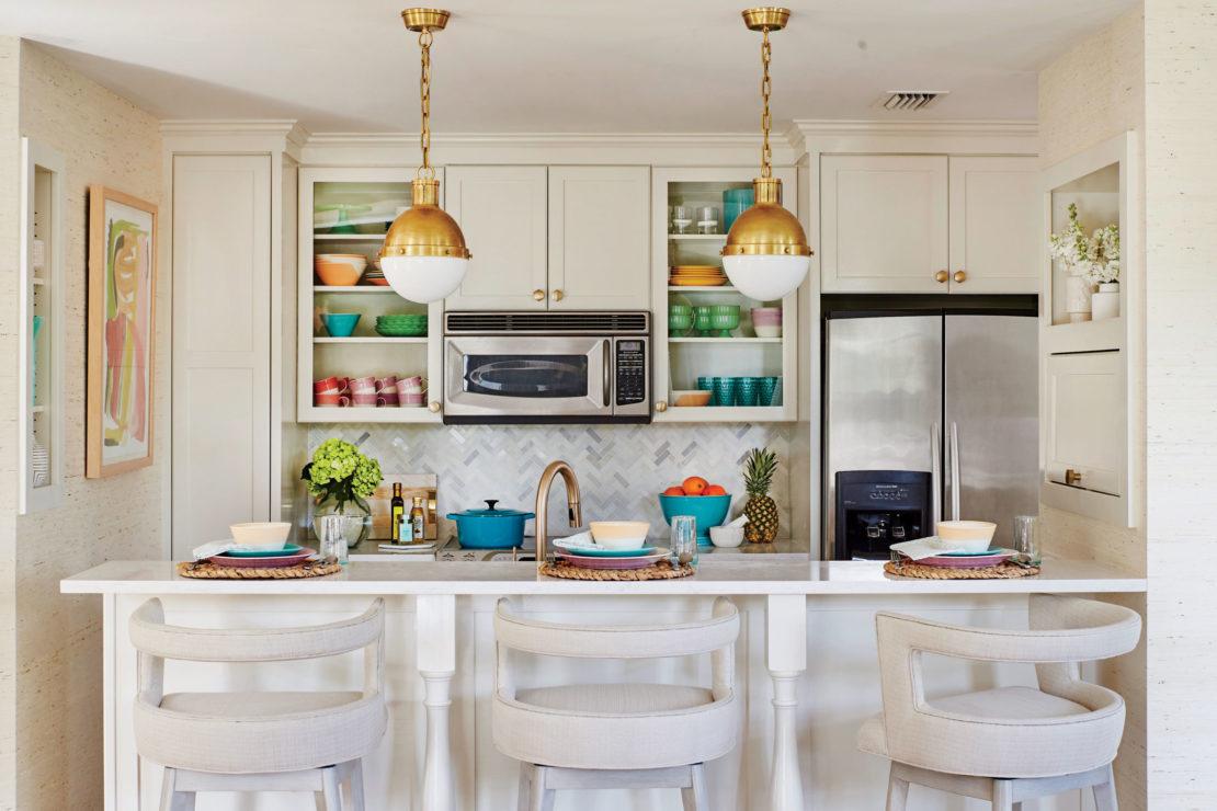 Подпотолочное пространство на кухне