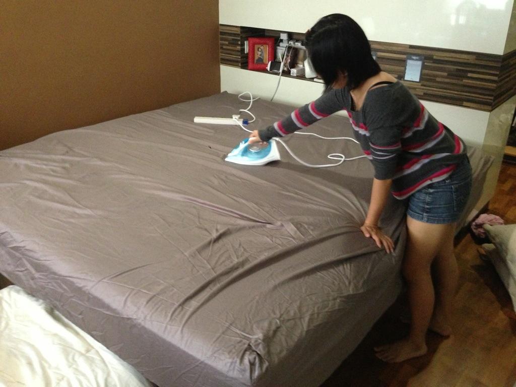 Глажка постельного белья, все плюсы и минусы