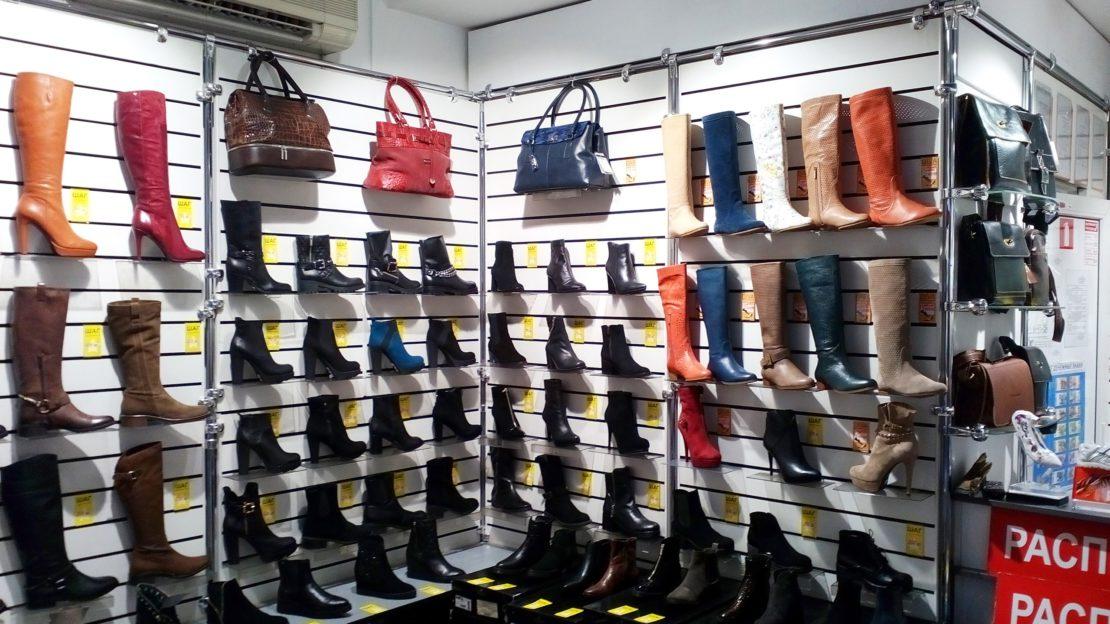 Принцип хранения обуви
