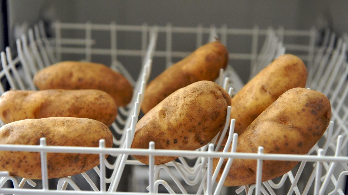 Овощи в посудомоечной машине