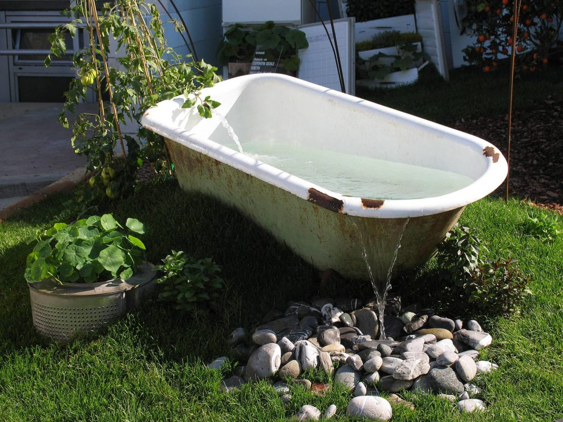 Что можно сделать из чугунной ванны