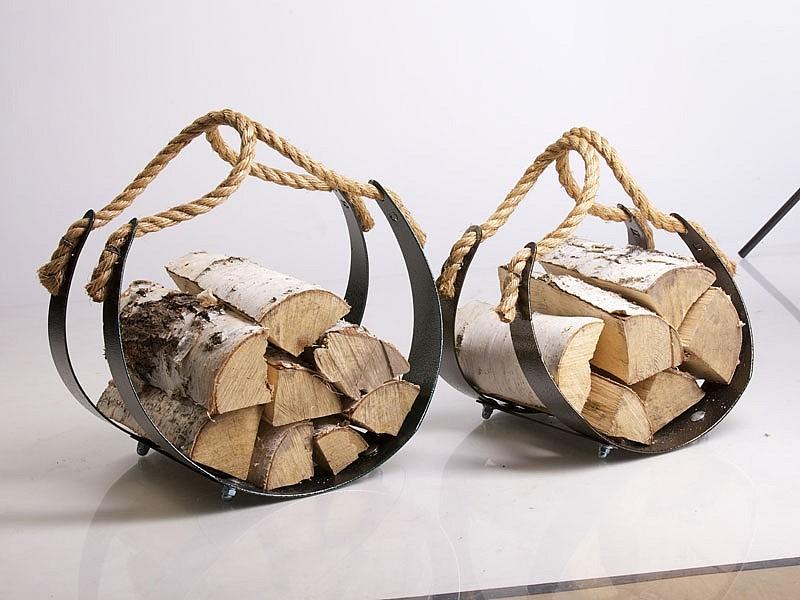 Переноска дров своими руками