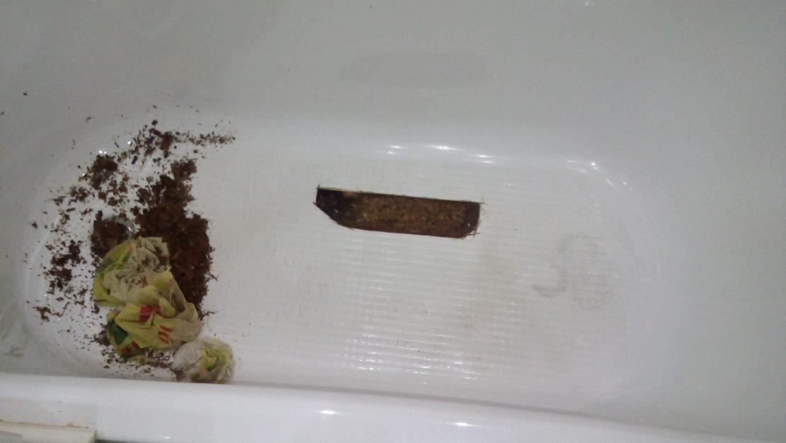 Причины появления царапин на акриловой ванне и варианты устранения