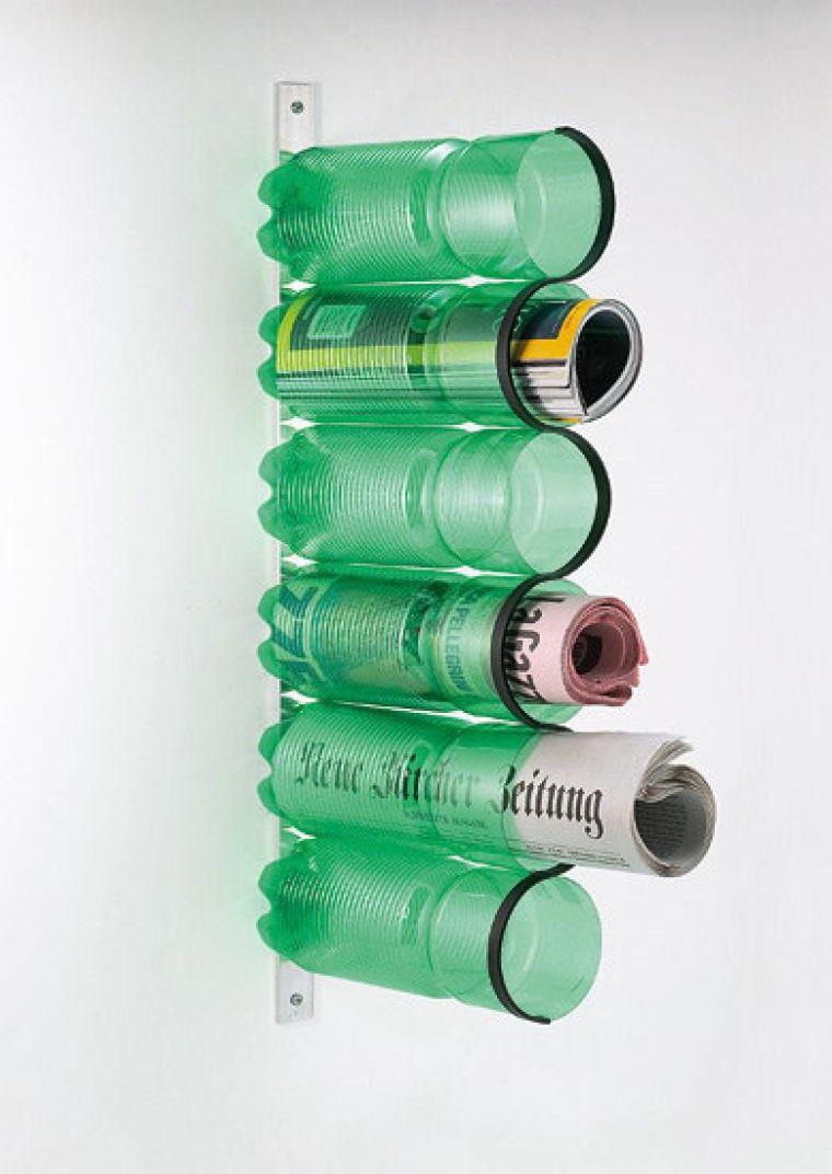 Органайзер для прессы из пластиковых бутылок