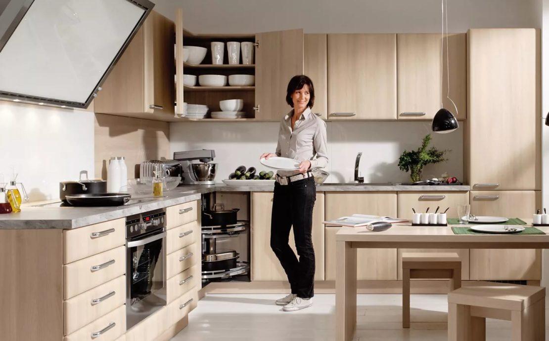 Функциональное пространство на кухне