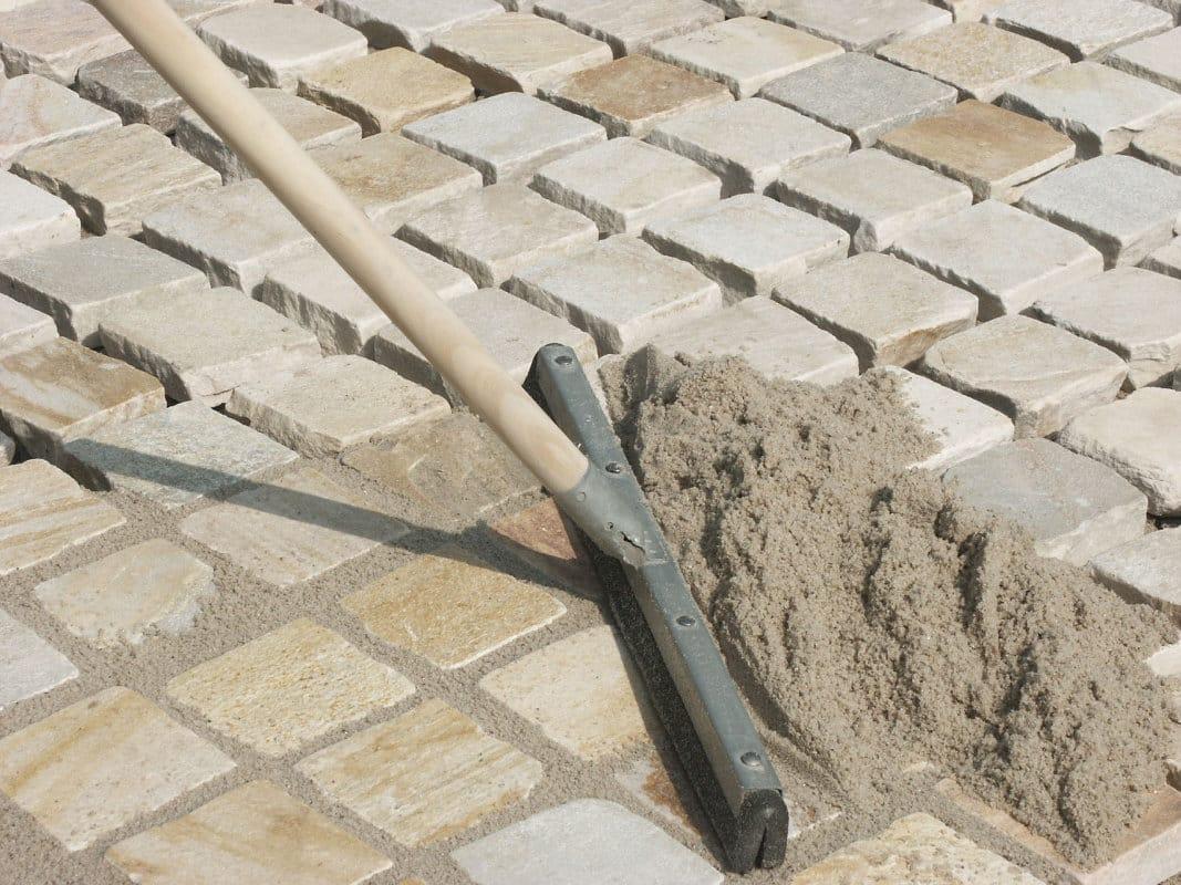 затирка тротуарной плитки