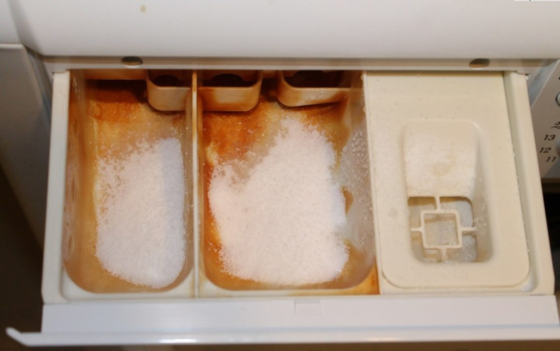 Как почистить отсек для порошка в стиральной машине