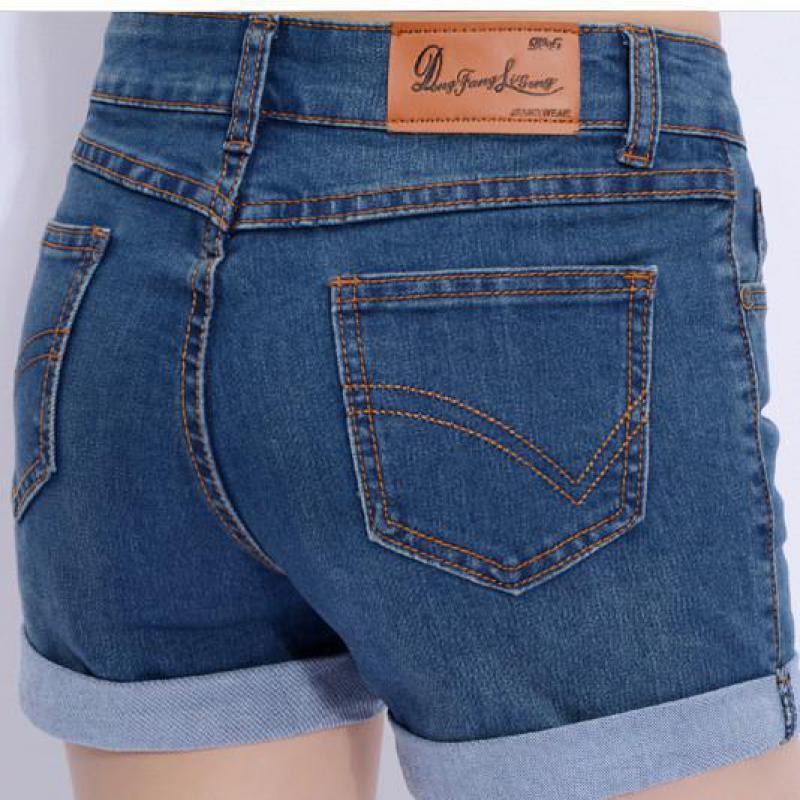женские шорты с подворотом