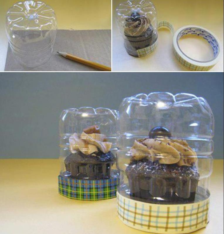 Контейнер для хранения кекса