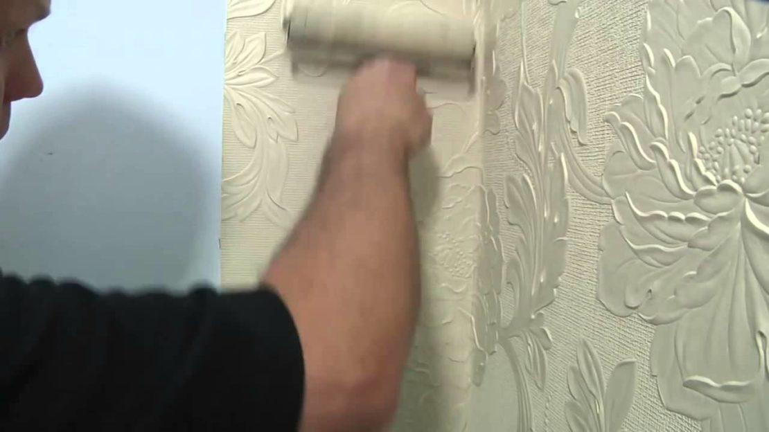 Как поклеить обои на неровные стены